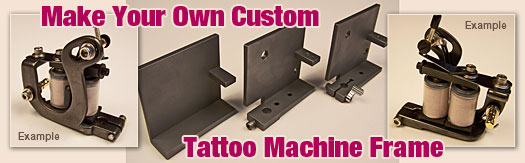 tattoo machine frames