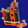 Orange Powder Coated Puma Quick Change Machine Head