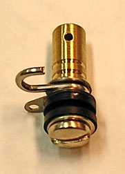 8-32 Round Brass Back Binding Post Long