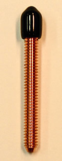 8-32 Copper Machined Contact Screw