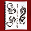 Sketch Sheets - Tribal Dragons and Scorpions