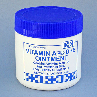 Vitamin A and D + E Ointment