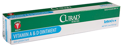 Curad Vitamin A & D Ointment - 2 ounce