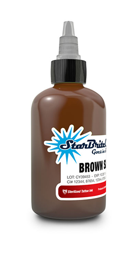 StarBrite Brown Sienna 1/2 Ounce