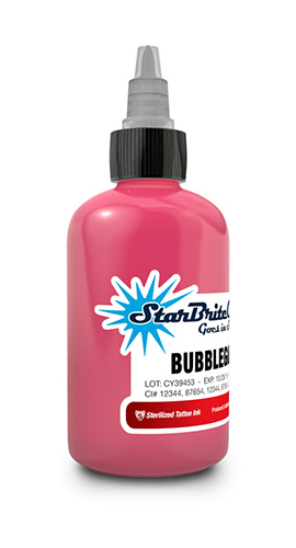 Starbrite Bubblegum Pink 1/2 Ounce