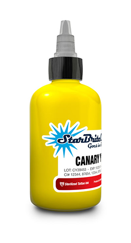 Starbrite Canary Yellow 2 Ounce
