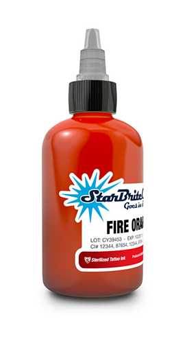 StarBrite Fire Orange 2 Ounce