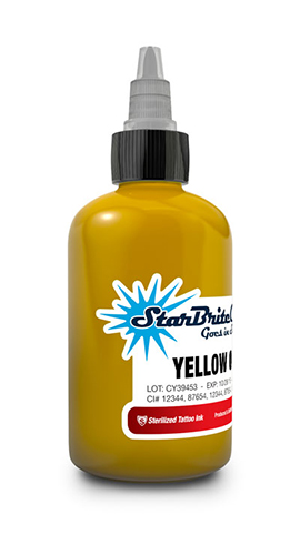 Starbrite Yellow Ochre 1/2 Ounce